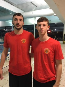 Adam Page (Right) scored Six in his team's first round Ref's Cup match v Beckenham 2nds...