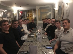 Team meal at Topology's Gloucester-Feb 2019