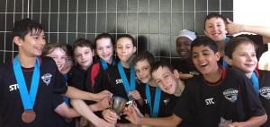 U12's team win Winter League title 2018-19