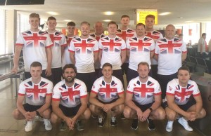 GB University team - Peter Pickford (Back row-second from right side)