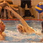 Josh Brown & Adam Page defend against City of Bristol in their BWPL Div One encounter - Watford won the encounter 15-6. Photo credit Trevor Hyde.