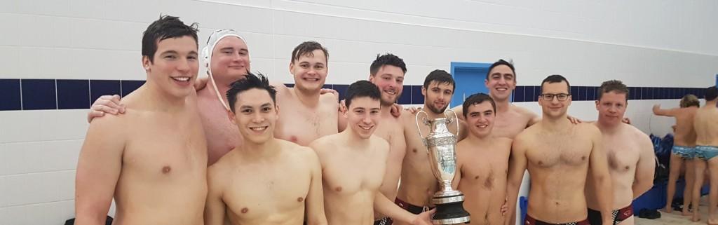 Winning Watford Men's team with Ref's Cup - Dec 2019